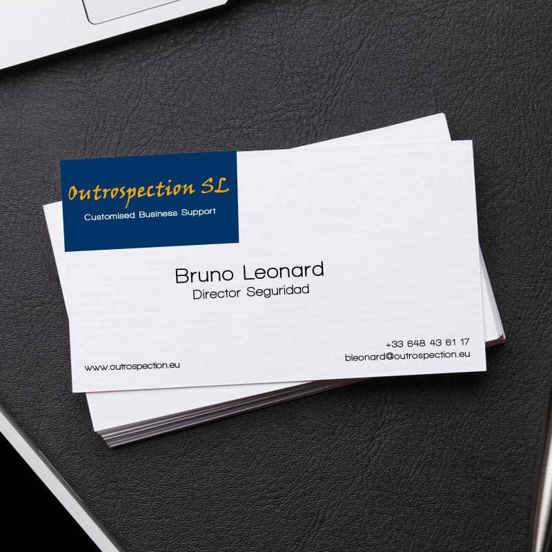 outrospection-business-card